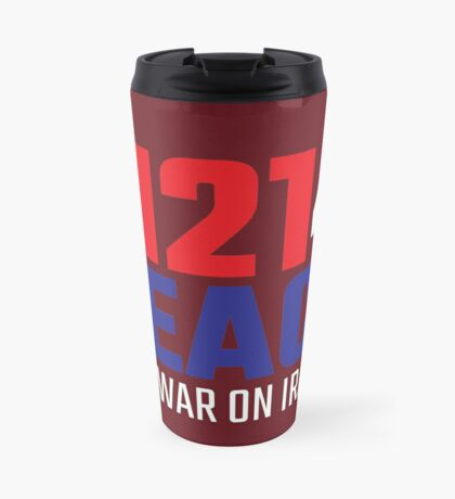 11214 (for) PEACE - No War on Iran! Travel Mug