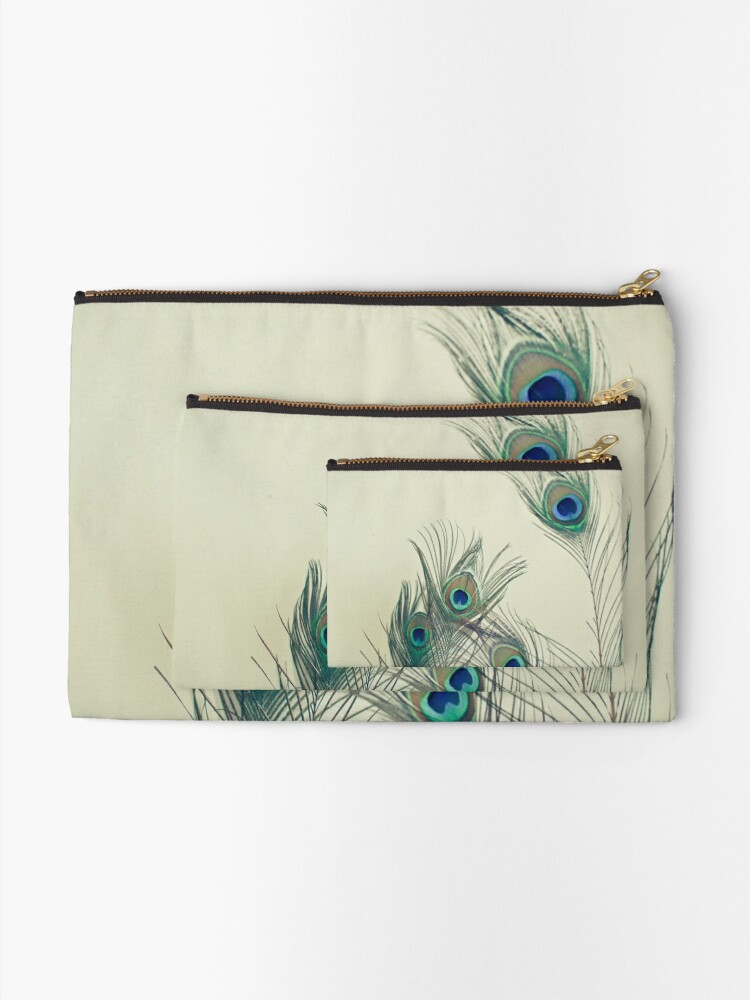 Alternate view of All Eyes Are on You  Zipper Pouch