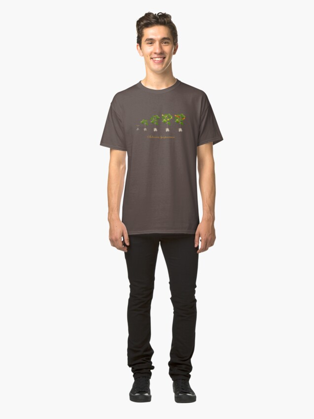 Alternate view of Solanum lycopersicum development  Classic T-Shirt