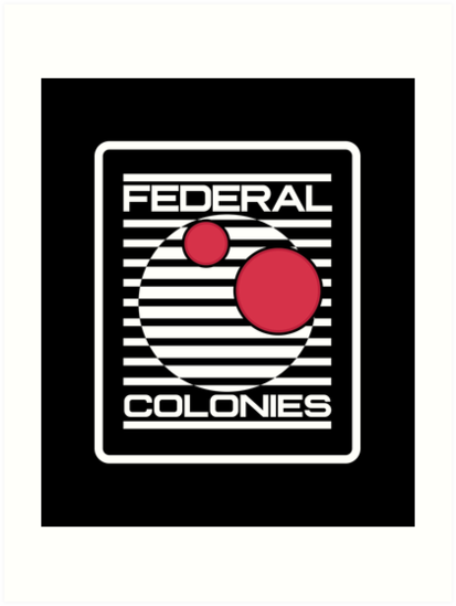 Federal colonies total Movie Arnold Recall Douglas colonies Sign Logo