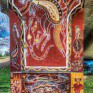 Cowra Painted Pylon 4 by Jason Ruth