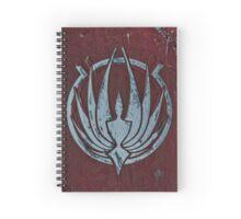 BSG Phoenix Spiral Throw Pillow Spiral Notebook