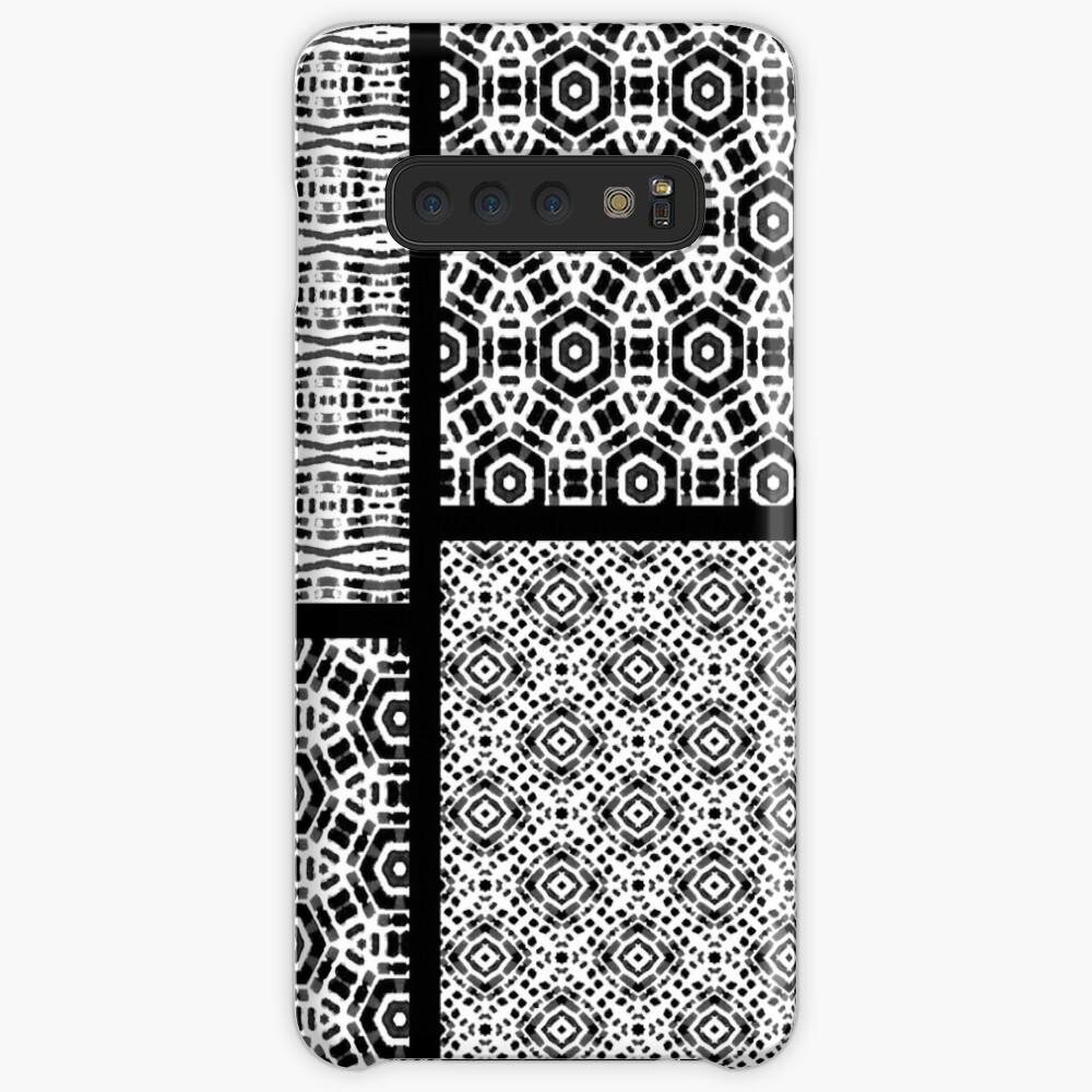 Shibori Quilt Ornament Case & Skin for Samsung Galaxy