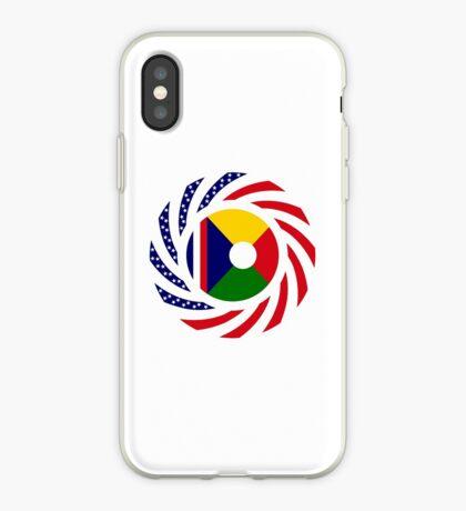 Reunion American Multinational Patriot Flag Series iPhone Case