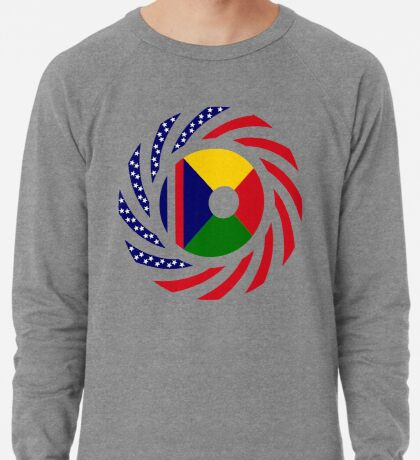 Reunion American Multinational Patriot Flag Series Lightweight Sweatshirt