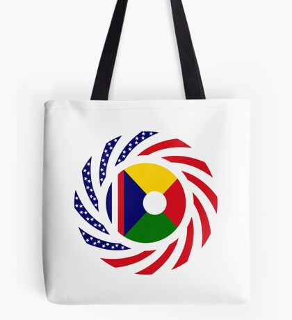 Reunion American Multinational Patriot Flag Series Tote Bag