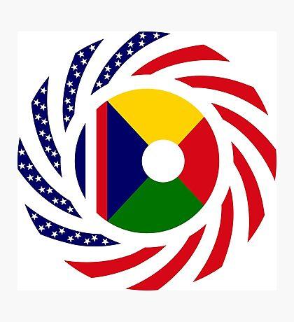 Reunion American Multinational Patriot Flag Series Photographic Print