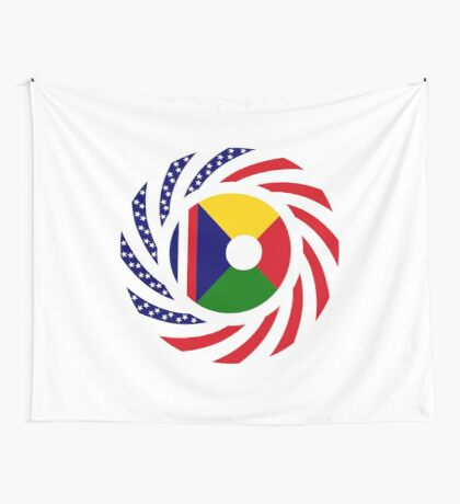 Reunion American Multinational Patriot Flag Series Wall Tapestry