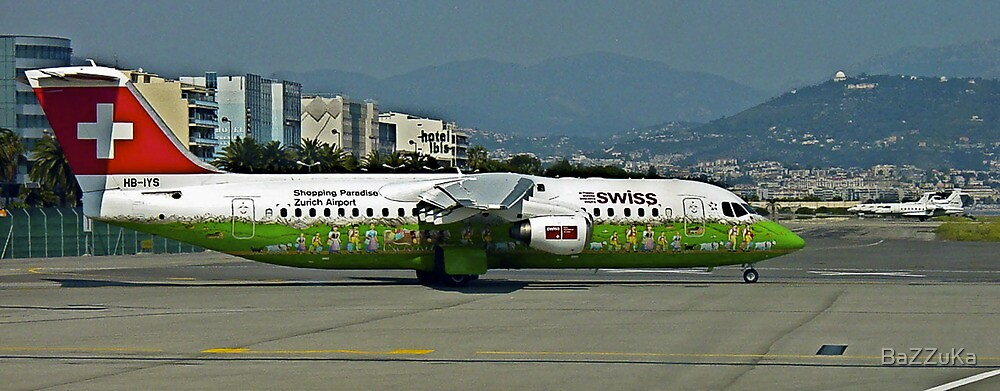 Nice Airport                    France by BaZZuKa