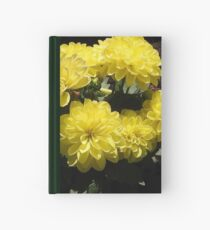 Sonnenschein-Dahlien Notizbuch