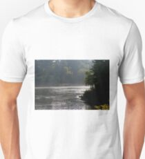 Misty Morning In Wisconsin Dells T-Shirt