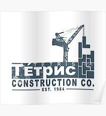 Tetris Construction Co. Poster