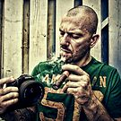 Smoker with Pentax  by makbet666