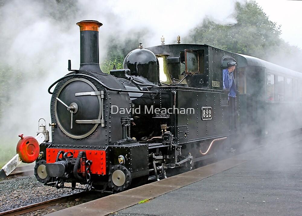 Locomotive 822  by David Meacham