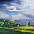 Liverpool Plains, Northern NSW , Stormy Day  by Virginia McGowan
