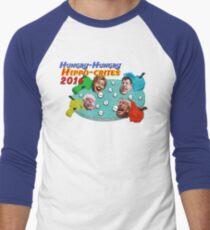 Hungry Hungry Hippo-crites 2016 Men's Baseball ¾ T-Shirt