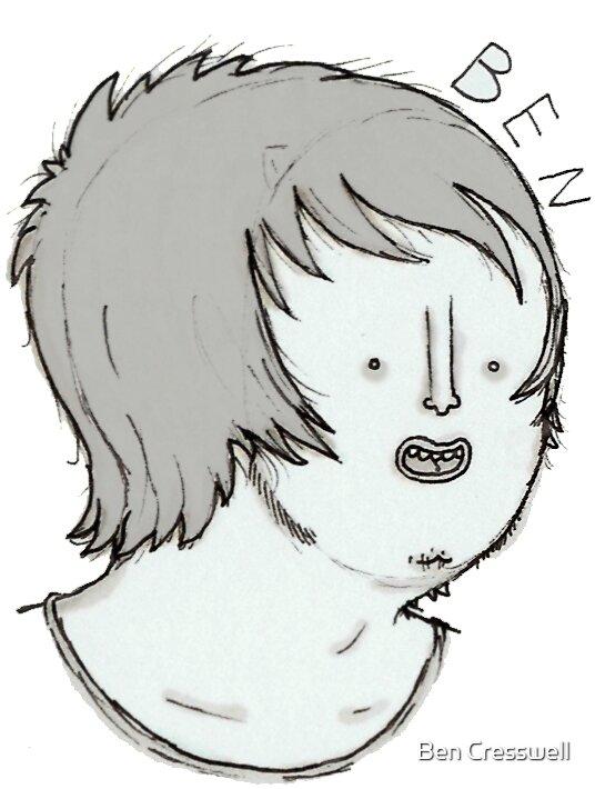 mongoloid self portrait