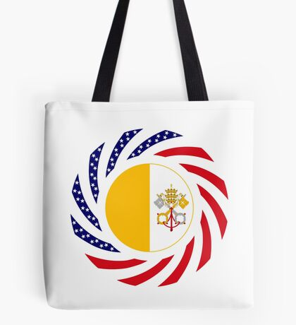 Catholic Murican Patriot Flag Series Tote Bag
