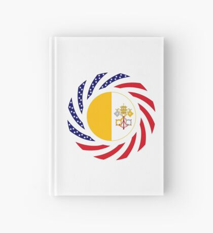 Catholic Murican Patriot Flag Series Hardcover Journal