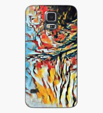 Oil Jagged Edges 004 1 Case/Skin for Samsung Galaxy