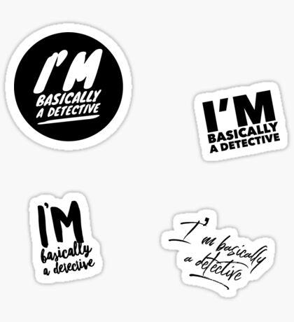 My Detective Stickers Sticker