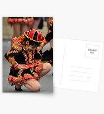 Bolivian Festival Suma Qamaña, Living Well Postkarten