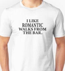 Romantic walks from..... Unisex T-Shirt