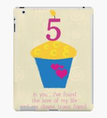 Happy Anniversary collection iPad Case/Skin