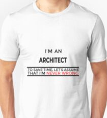 Architect Gift Slim Fit T-Shirt