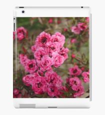 Pink Flower Power iPad Case/Skin