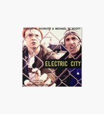 Electric City Album Artwork Art Board