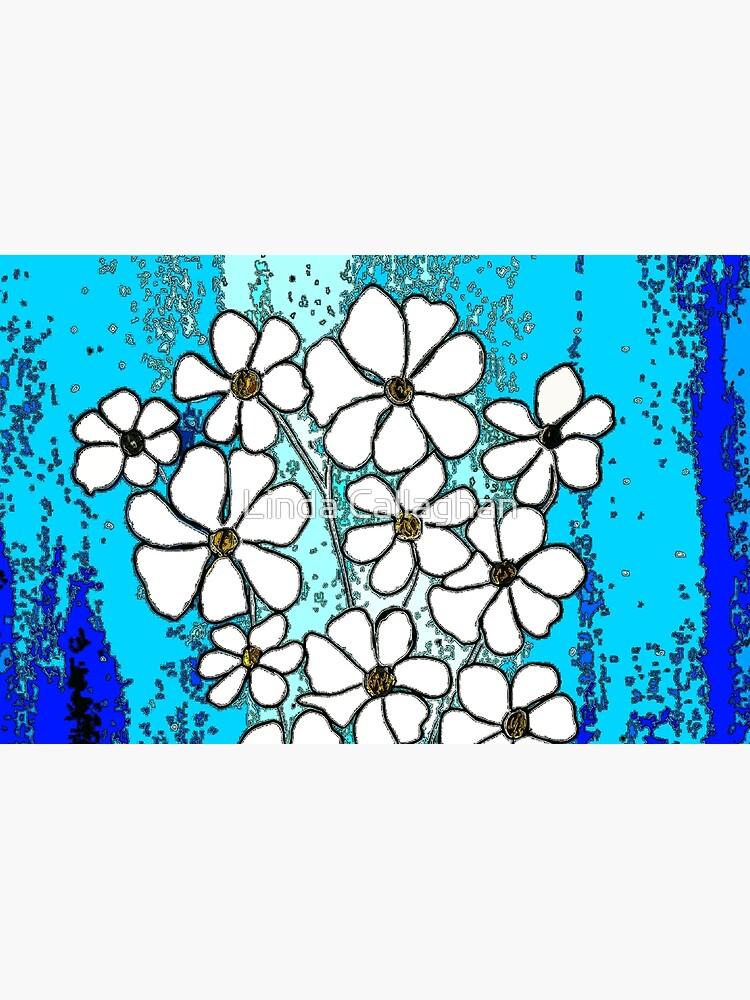 Flowers in Blue by LindArt1