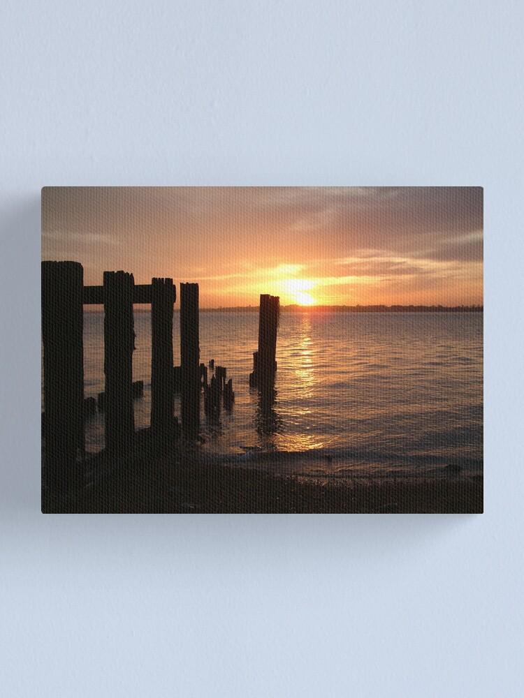 Alternate view of Sunset Calendar 01 Canvas Print
