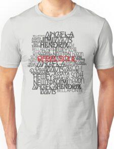Rebel Soul Angela Davis Gil Scott Heron Getup Unisex T-Shirt