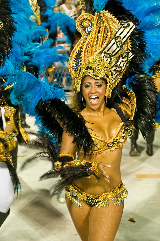 Carnival in Rio II by Quasebart