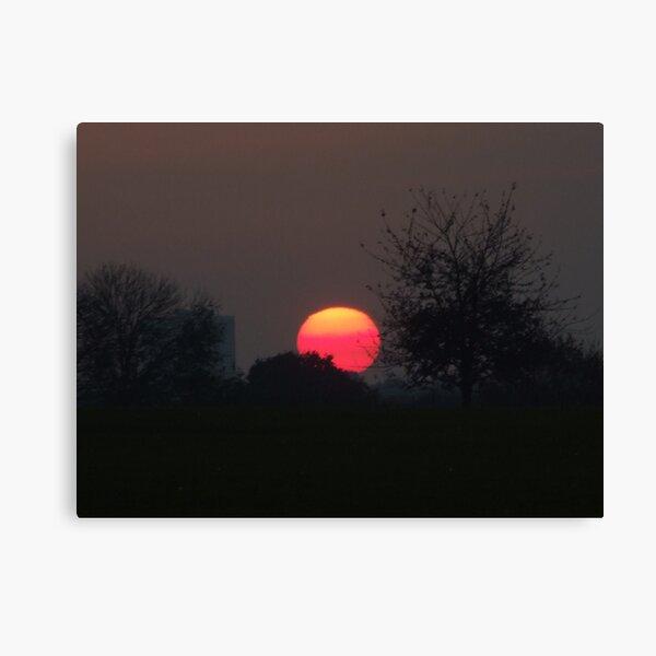 Sunset Calendar 03 Canvas Print