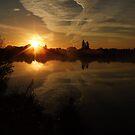 Sunset Calendar 04 by Peter Barrett