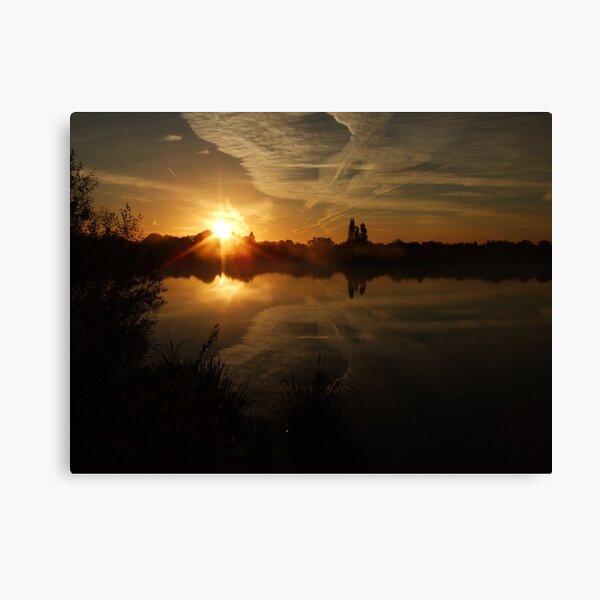 Sunset Calendar 04 Canvas Print