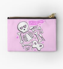 I Fall To Pieces Zipper Pouch