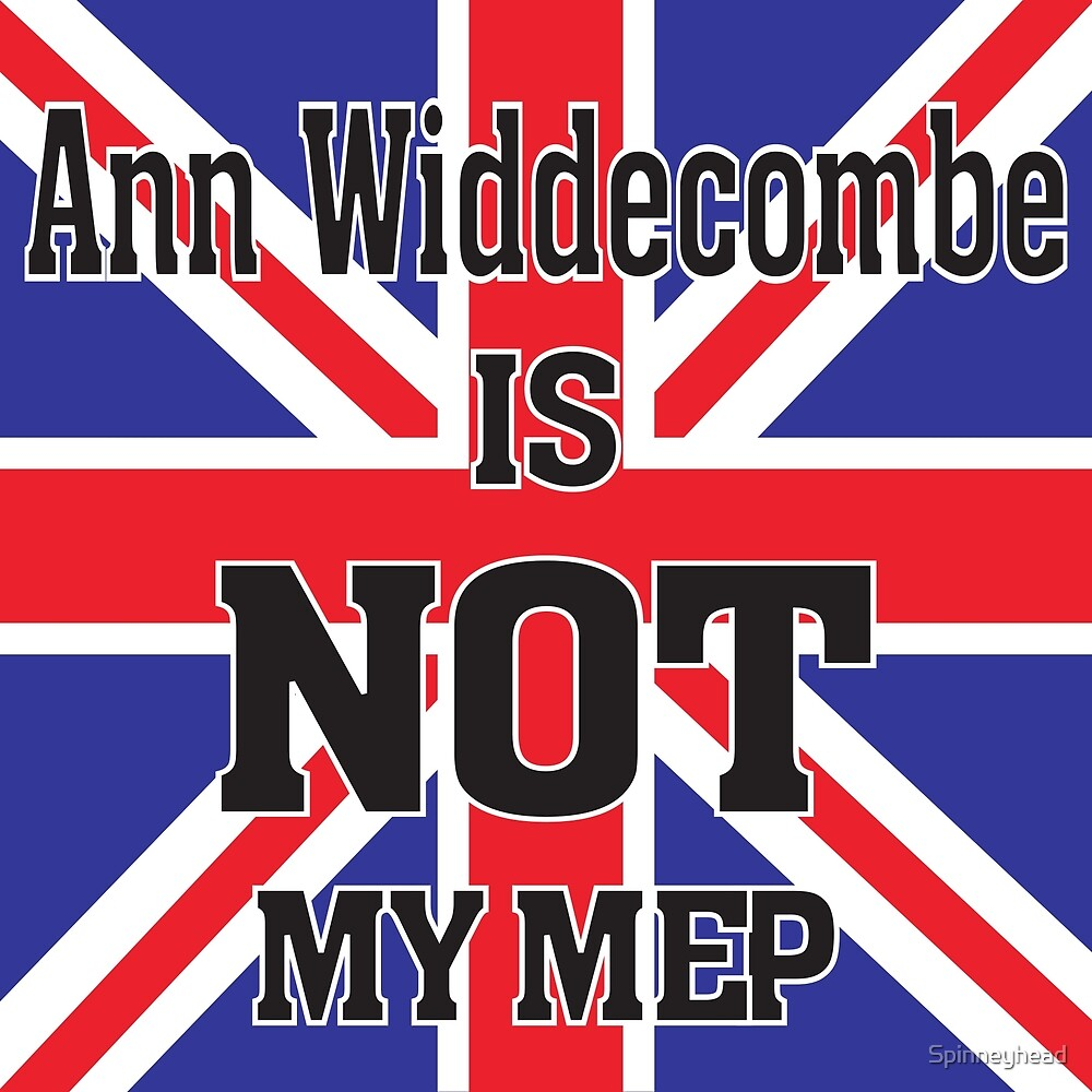 Ann Widdecombe is NOT my MEP by Spinneyhead