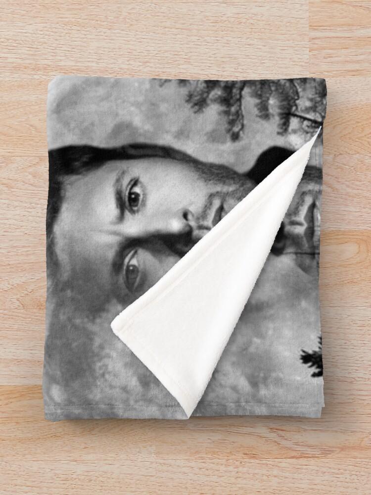 Alternate view of Jensen Ackles Throw Blanket