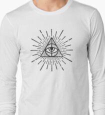 All seeing eye Long Sleeve T-Shirt
