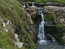 Waterfall at Wellcombe Mouth by WatscapePhoto