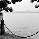 Staring into the ellipse - Hangzhou, China by Norman Repacholi