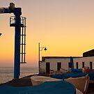 Puerto Santiago Harbour Dusk by Kasia-D