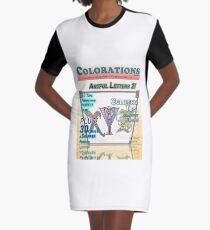 Vestido camiseta Colorations Magazine - Artful Letters 2