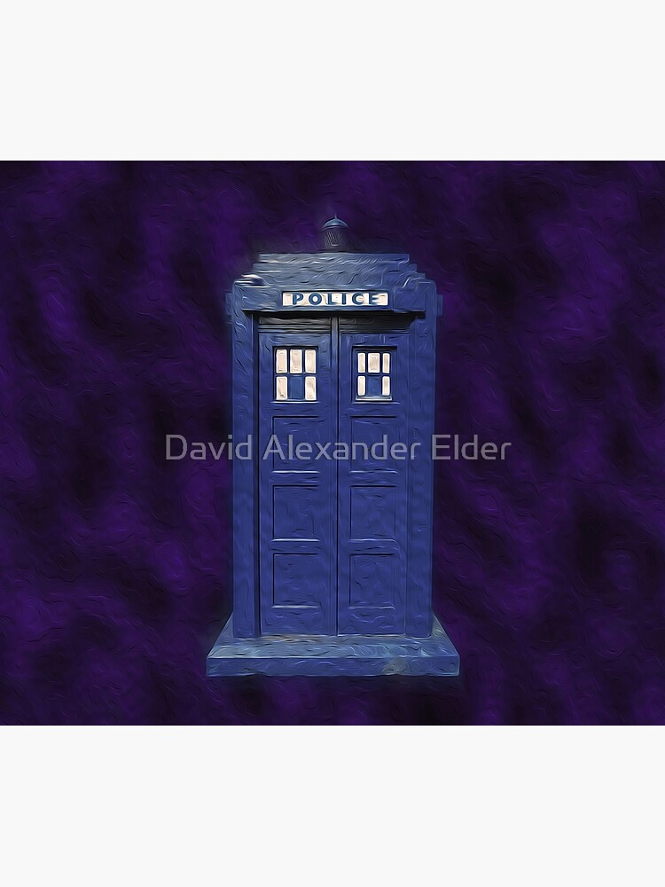 Dr Who Tardis Digital Art by davidelder