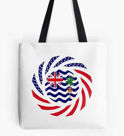 British Indian American Multinational Patriot Series Tote Bag