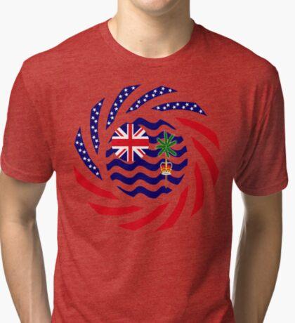 British Indian American Multinational Patriot Series Tri-blend T-Shirt