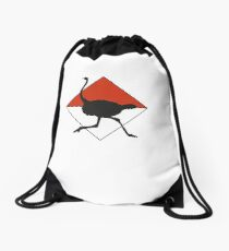 O-Strich Orienteering Drawstring Bag